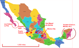 places to retire in mexico