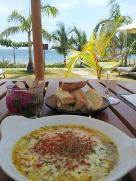 Amarettos Restaurant Pedasi Panama, looking towards the ocean – Best Places In The World To Retire – International Living