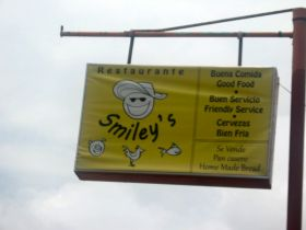 Sign of Smiley's Restaurant, Pedasi Panama – Best Places In The World To Retire – International Living