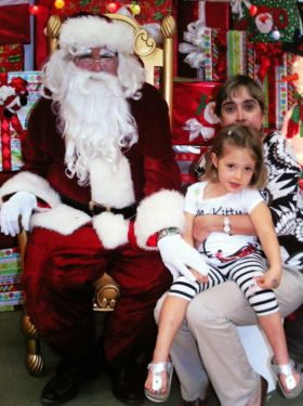 Santa Clause in Nicaragua at department store – Best Places In The World To Retire – International Living