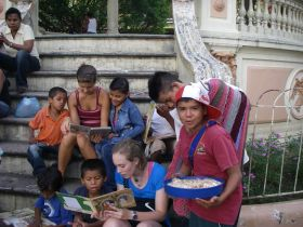 Darrell Bushnell Nica Nuggets Granada, Nicaragua  Reading in the Park – Best Places In The World To Retire – International Living