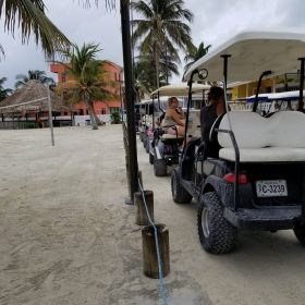 Golf carts on Ambergris Caye – Best Places In The World To Retire – International Living