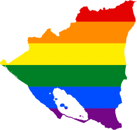 LGBT_flag_map_of_Nicaragua – Best Places In The World To Retire – International Living
