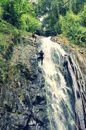 Wet Rapelling Waterfall in El Valle de Anton Panama – Best Places In The World To Retire – International Living