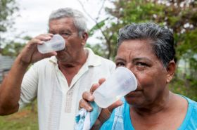 Panamanians in the interior drinking safe water – Best Places In The World To Retire – International Living