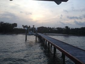 Long dock and a pier at sunset in Belize – Best Places In The World To Retire – International Living