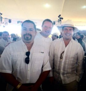 Spencer McMuillen at Wine Tasting Event with Jalisco Goverrnor – Best Places In The World To Retire – International Living