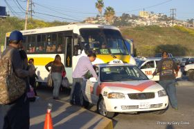 Taxi and bus stand at the border – Best Places In The World To Retire – International Living