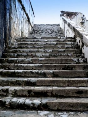 Fort San Juan de Ulúa, Veracruz, Mexico an old stairway – Best Places In The World To Retire – International Living