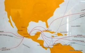 Fort San Juan de Ulúa, Veracruz, Mexico map of trade routes – Best Places In The World To Retire – International Living