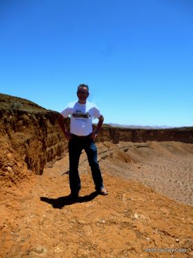 Gary Coles at El Elegante Crater in El Pinacate – Best Places In The World To Retire – International Living