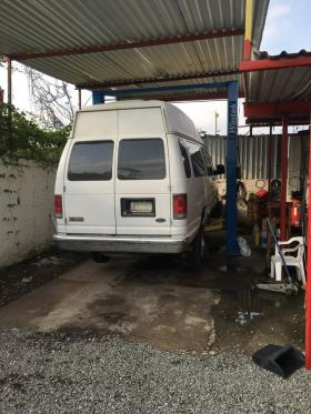 Big white van at Felipe Morales Autocheck in Lake Chapala, Mexico – Best Places In The World To Retire – International Living