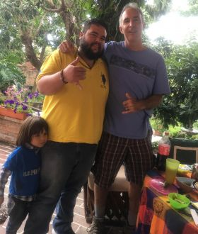 Chuck Bolotin and Pancho and his son in Ajijic, Mexico – Best Places In The World To Retire – International Living