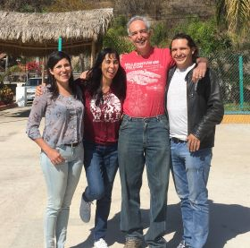 Jet Metier, Chuck Bolotin, Johnny and Gaby in San Juan Cosala, Mexico – Best Places In The World To Retire – International Living