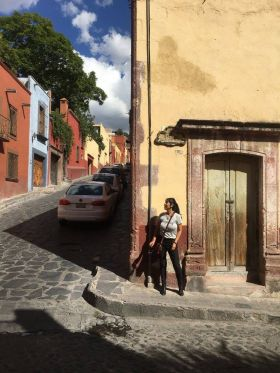 Jet Metier on the street in San Miguel de Allende – Best Places In The World To Retire – International Living