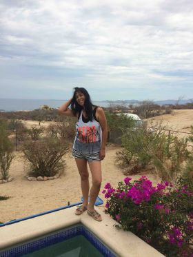 Jet Metier with background of Sea of Cortez, La Ventana, Baja California Sur – Best Places In The World To Retire – International Living