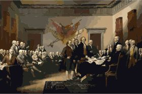 Painting of the signing of the Declaration of Independence – Best Places In The World To Retire – International Living