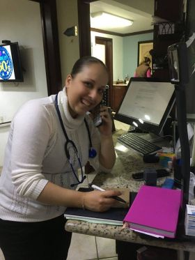 Receptionist in Dr. Leon's office, Ajijic, Mexico – Best Places In The World To Retire – International Living
