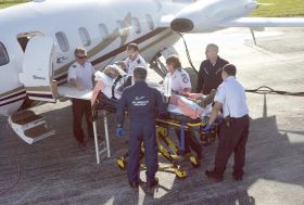Medical evacuation to an airplane – Best Places In The World To Retire – International Living