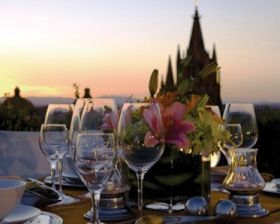 San Miguel de Allende rooftop dining – Best Places In The World To Retire – International Living