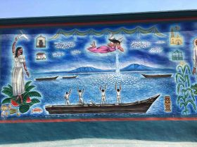 A mural in Ajijic, Mexico – Best Places In The World To Retire – International Living