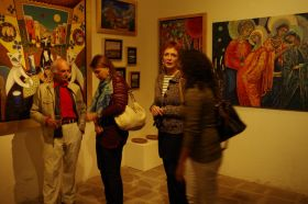 Ivy del Posso at an opening of the Gallery Relox 46 – Best Places In The World To Retire – International Living