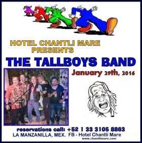 Poster for expat band, The TallBoys Band from Ajijic, Mexico – Best Places In The World To Retire – International Living