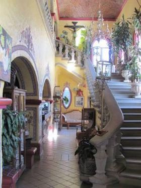 Interior stairway of Nueva Posada, Ajijic – Best Places In The World To Retire – International Living