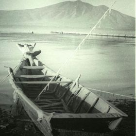 Man relaxing in a boat on Lake Chapala near Ajijic, 1950s – Best Places In The World To Retire – International Living
