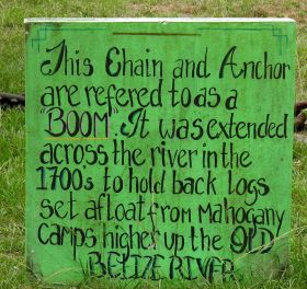 sign in Burrell Boom, Belize – Best Places In The World To Retire – International Living