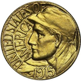 Obverse of a 1915-S Panama-Pacific gold dollar – Best Places In The World To Retire – International Living