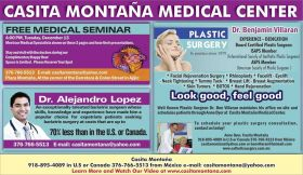 Ad for a medical seminar at Casita Montana, Ajijic, Mexico – Best Places In The World To Retire – International Living