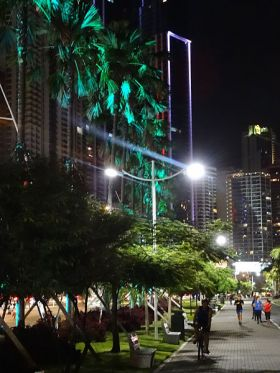 Cinta Costerea at night, Panama City, Panama – Best Places In The World To Retire – International Living