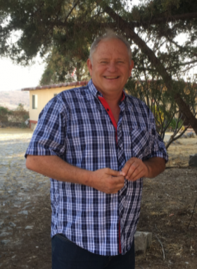 American expat Tom Leonard on the grounds of his hotel, Hotel Perico, Lake Chapala, Mexico – Best Places In The World To Retire – International Living