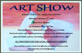 Art show to raise money for a local ambulance, La Ventana, Baja California Sur, Mexico – Best Places In The World To Retire – International Living