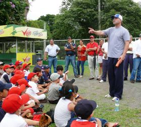Baseball clinic in Parque Omar, San Francisco, Panama City, Panama – Best Places In The World To Retire – International Living