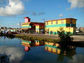 Bus terminal, Belize City – Best Places In The World To Retire – International Living