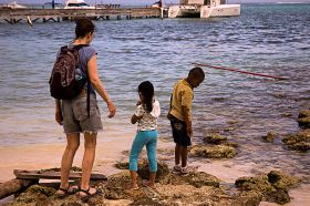 Belize kids at the seashore – Best Places In The World To Retire – International Living