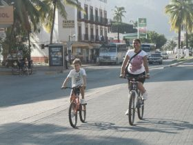 Bike lane in Puerto Vallarta, Mexico – Best Places In The World To Retire – International Living