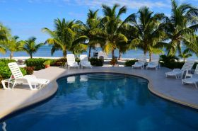 Caribbean view from poolside at Tara del Dol, Ambergris Caye Belize – Best Places In The World To Retire – International Living