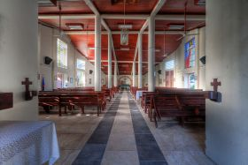 Catholic church in San Pedro, Ambergris Caye Belize – Best Places In The World To Retire – International Living
