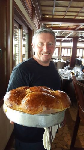 (Chef Laurent presents his fish brioche at  restaurant at The Placencia Hotel and Residences, Placencia, Belize – Best Places In The World To Retire – International Living