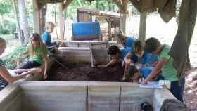 Children learn about organic gardening at San Juan del Sur Day School, San Juan del Sur, Nicaragua – Best Places In The World To Retire – International Living