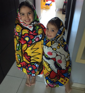 Children in towels from Machetazo department store, Panama – Best Places In The World To Retire – International Living