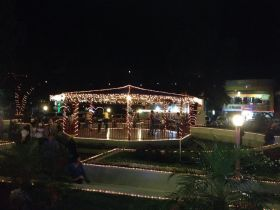 Christmas lights at Casa de Montana, Boquete, Panama – Best Places In The World To Retire – International Living