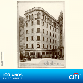 Commemorative photo of Citibank celebrating 100 years in the country of Columbia – Best Places In The World To Retire – International Living