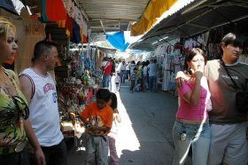 Clothes sold in open air market Lake Chapala, Mexico – Best Places In The World To Retire – International Living