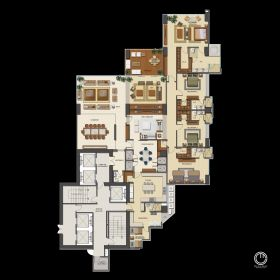 Condo layout  by Pacific Developers, Panama City, Panama – Best Places In The World To Retire – International Living