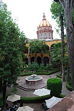 Courtyard of Centro Cultural Ignacio Ramirez, San Miguel de Allende, Mexico – Best Places In The World To Retire – International Living