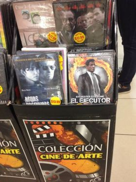 DVD stand in Farmacias Arrocha, Panama – Best Places In The World To Retire – International Living